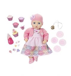 Кукла Baby Annabell Праздничная интерактивная 43 см