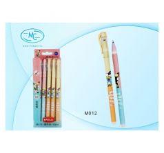 Ручка гелевая MC-Basir пишет-стирает 0,35 мм синий