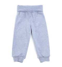 Комплект боди/брюки/слюнявчик Play Today Пингвиненок и Ко, цвет: белый/серый