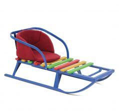Сиденье в санки Leader Kids, цвет: бордовый