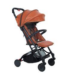 Прогулочная коляска Tommy Trip, цвет: коричневый