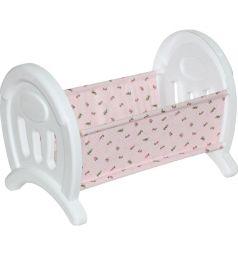 Сборная кроватка для кукол Полесье белая 54 см