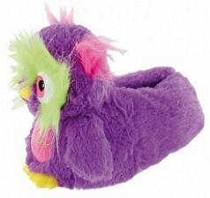 Тапочки-игрушки Forio, цвет: фиолетовый