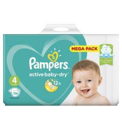 Подгузники Pampers Active Baby-Dry (9-14 кг) 106 шт.