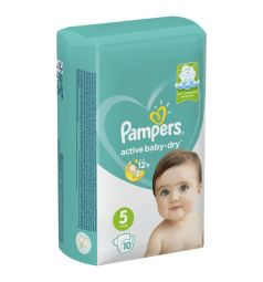 Подгузники Pampers Active Baby-Dry (11-16 кг) 10 шт.