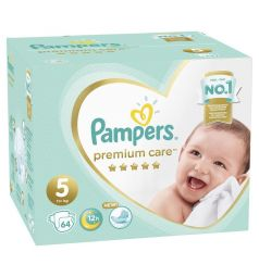 Подгузники Pampers Premium Care (11-16 кг) 64 шт.