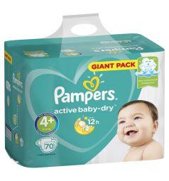 Подгузники Pampers Active Baby-Dry (10-15 кг) 70 шт.