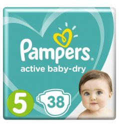 Подгузники Pampers Active Baby-Dry (11-16 кг) 38 шт.