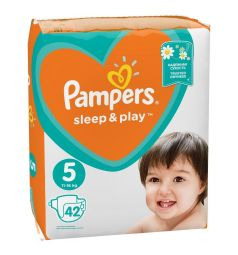 Подгузники Pampers Sleep&Play (11-16 кг) 42 шт.