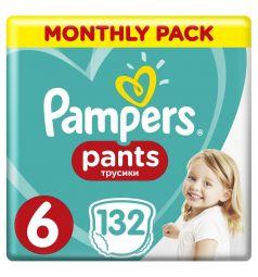 Подгузники-трусики Pampers Pants (15+ кг) 132 шт.