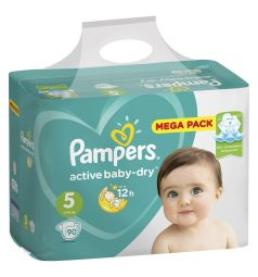 Подгузники Pampers Active Baby-Dry (11-16 кг) 90 шт.