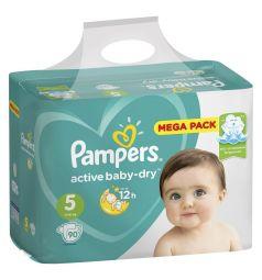 Подгузники Pampers Active Baby-Dry (11-16 кг) 90 шт.