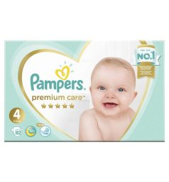 Подгузники Pampers Premium Care (9-14 кг) 82 шт.