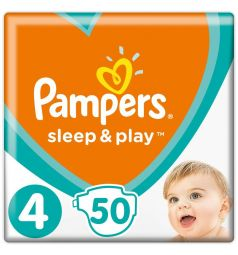 Подгузники Pampers Sleep&Play (9-14 кг) 50 шт.