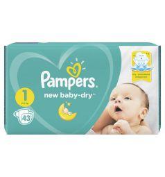 Подгузники Pampers New Baby-Dry (2-5 кг) 43 шт.