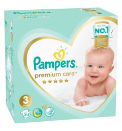 Подгузники Pampers Premium Care (6-10 кг) 114 шт.