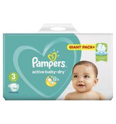 Подгузники Pampers Active Baby-Dry (6-10 кг) 104 шт.
