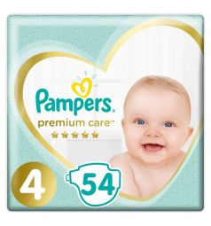 Подгузники Pampers Premium Care (9-14 кг) 54 шт.