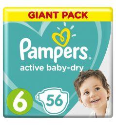 Подгузники Pampers Active Baby-Dry (13-18 кг) 56 шт.