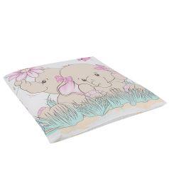 Зайка Моя Подушка 40 х 40 см, цвет: розовый