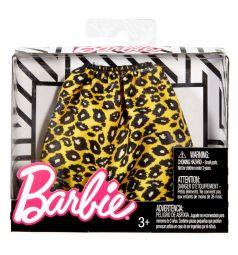 Наряд для куклы Barbie Универсальный размер Леопардовая юбка