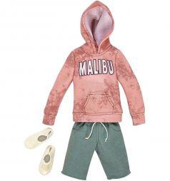 Наряд для куклы Barbie Кен Розовый свитшот