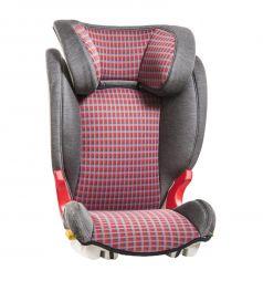 Автокресло Baier Adefix, цвет: karo/grey/red