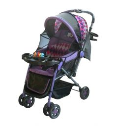 Прогулочная коляска Little King LK- 216, цвет: фиолетовый