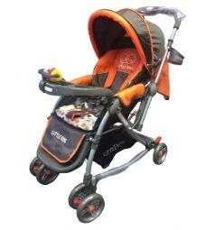Прогулочная коляска Little King LK- 217 R, цвет: оранжевый