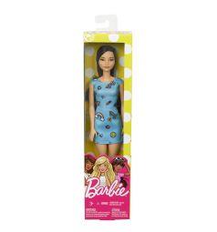 Кукла Barbie Стиль Синее платье с радугой 29 см