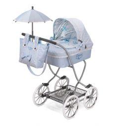 Кроватка для кукол DeCuevas Кэрол с сумкой и зонтиком 80 х 45 х 90 см