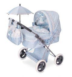Кроватка для кукол DeCuevas Кэрол с сумкой и зонтиком 60 х 38 х 65 см