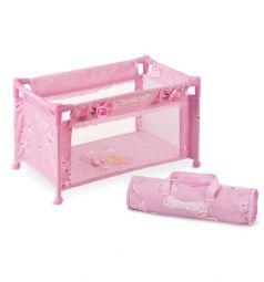 Манеж-кроватка для кукол DeCuevas Мария розовая 50 х 29 х 30 см
