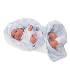 Кукла Juan Antonio Антонио в голубом 40 см