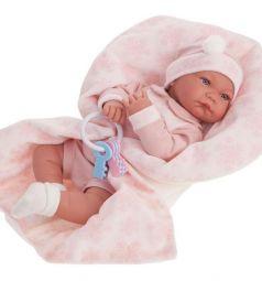 Кукла Juan Antonio Антония в розовом 40 см