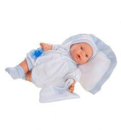 Кукла Juan Antonio Химено в голубом 27 см