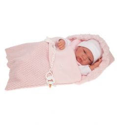 Кукла Juan Antonio Вероника в розовом 42 см