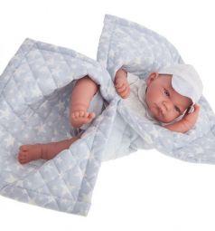 Кукла Juan Antonio Эрик в голубом 42 см