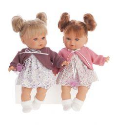 Кукла Juan Antonio Монси в фиолетовом 30 см