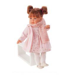 Кукла Juan Antonio Марианна в розовом 55 см