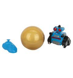 Игрушка на радиоуправлении Игруша Робот, цвет: синий 14 см