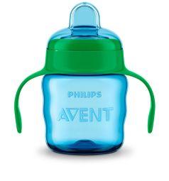 Чашка-поильник Philips Avent Comfort SCF551/05, с 6 месяцев, цвет: голубой