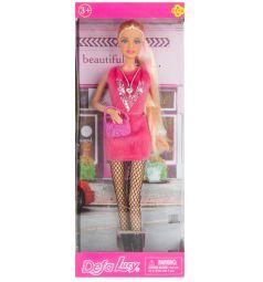 Кукла Defa Модница в розовом платье 28 см