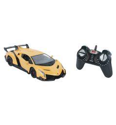 Машинка на радиоуправлении GK Racer Series Lamborghini Veneno, желтая 1 : 18