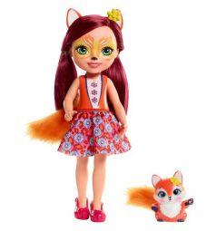 Enchantimals, Кукла большая с любимой зверюшкой (в асс) FELICITY FOX&FLICK