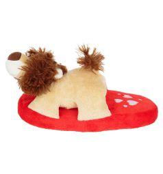 Тапочки-игрушки Forio, цвет: красный/коричневый