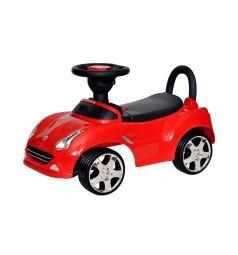 Каталка Everflo Машинка 613, цвет: красный