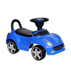 Каталка Everflo Машинка 613, цвет: синий