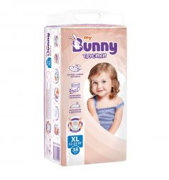 Трусики-подгузники My Bunny XL (12-22 кг) 38 шт.