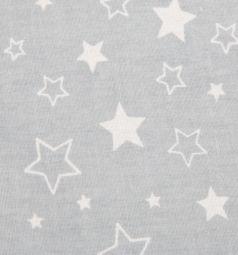 Зайка Моя Подушка 40 х 60 см, цвет: серый